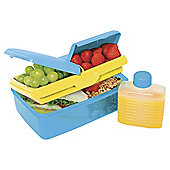 Sistema Quaddie Lunchbox Blue/Yellow