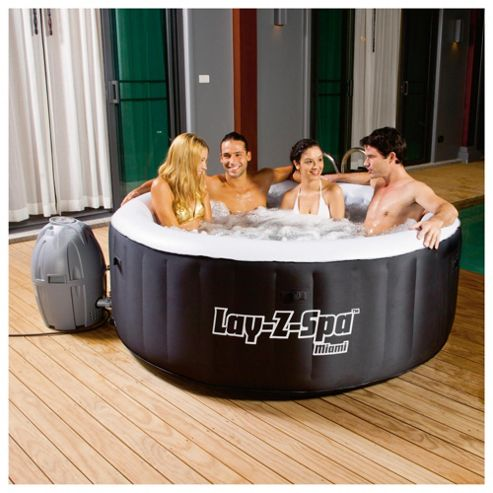 buy bestway lay z spa miami inflatable hot tub from our. Black Bedroom Furniture Sets. Home Design Ideas