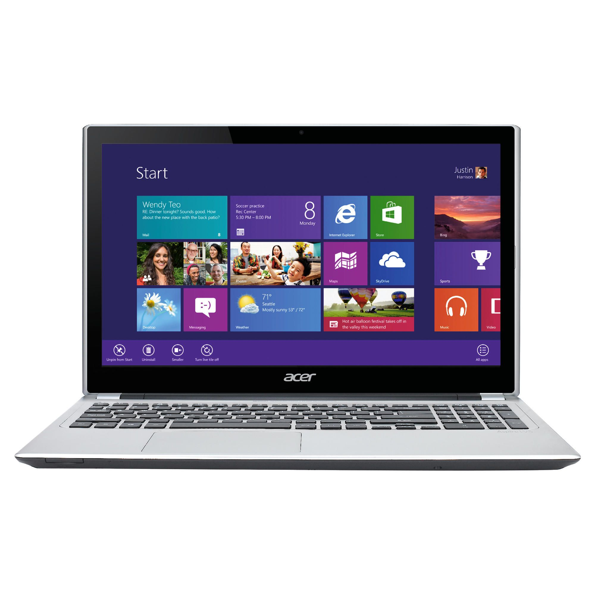 Acer V5-571 Intel Ci3-2365 6GB 500 GB 15.6'' Touch at Tesco Direct