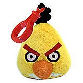 Angry Birds Plush Backpack Clip - Yellow Bird