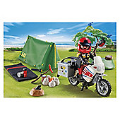 Playmobil Biker At Camp Site