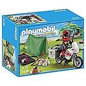 Playmobil 5438 Summer Fun Biker at Campsite