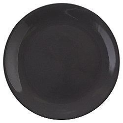Basics Dinner Plate, Charcoal