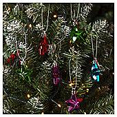 Bright Stars Christmas Tree Decorations, 10 pack