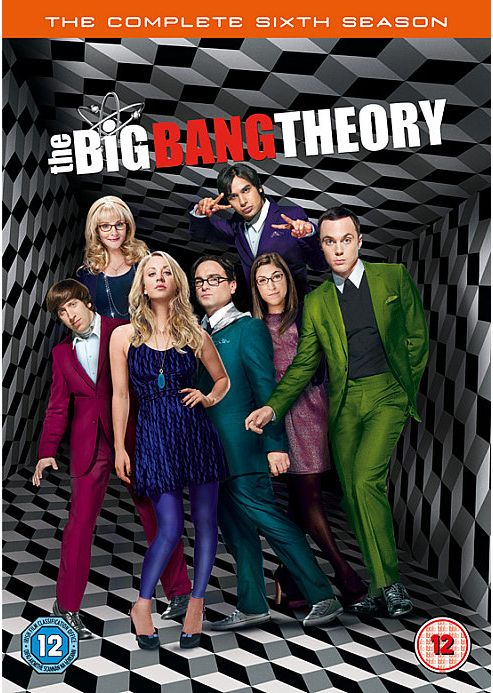 The Big Bang Theory: Series 6 (DVD Boxset)