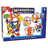 Marbureka 74 piece marble run set