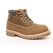 Skechers Mens Sergeants Verdict Brown Boots - Brown