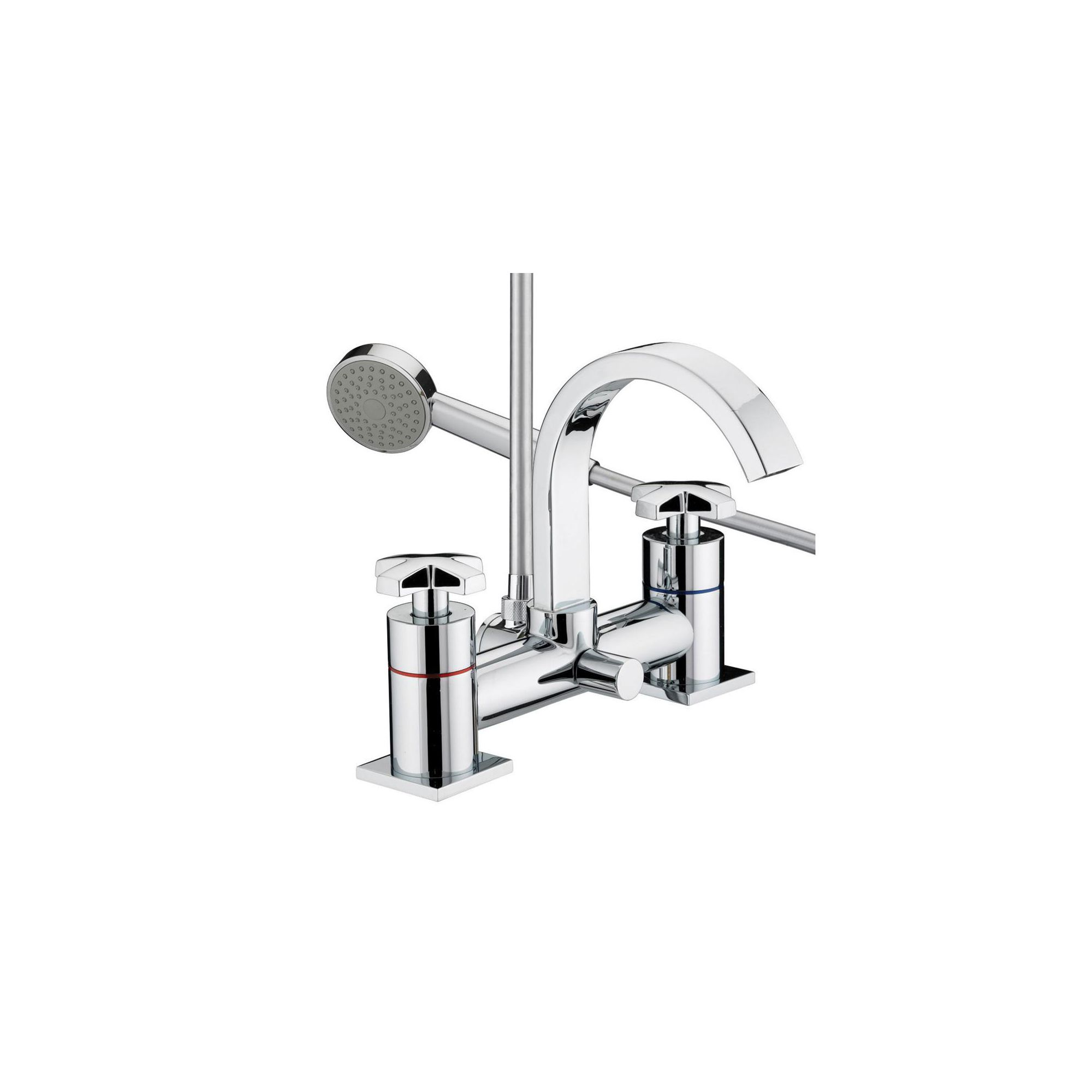 Bristan Moloko Bath Shower Mixer Tap Chrome Plated at Tesco Direct