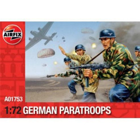 WWII German Paratroops (A01753) 1:72