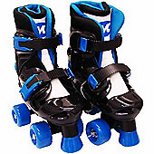 Evo Blue Quad Skates - Child Size 13 to Adult Size 2