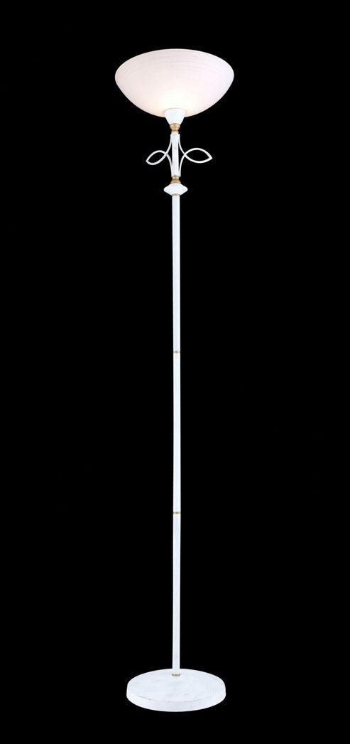 Wofi Piacenza 1 Light Floor Lamp - Rustic Crème