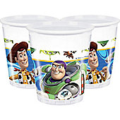 Toy Story 3 Cups - 180ml Plastic Party Cups, Pack of 10