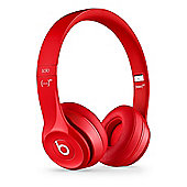Beats by Dre Solo 2 Wireless On-Ear Headphones, Red