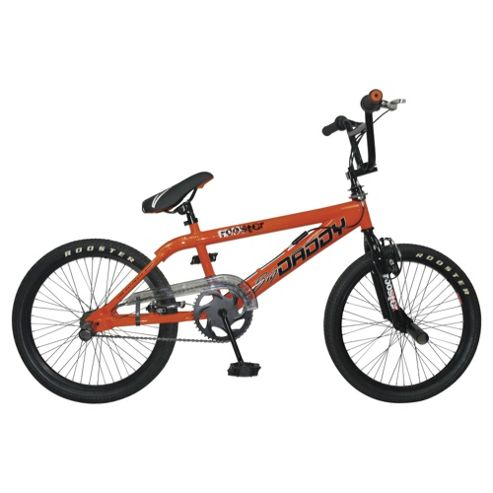 Big Daddy BMX Bike, Neon Orange with Spokes