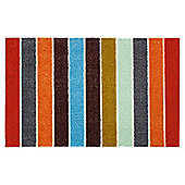 Mrs Mat Indoor Mat - Chunky Bright Stripe