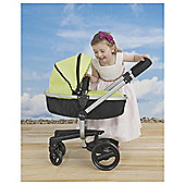 Silver Cross Surf Dolls Pram - Green