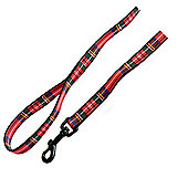Ancol Tartan Print Dog Lead 100cm X 25mm