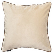 McAlister Champagne Gold Matt Velvet Cushion Cover - 43x43cm