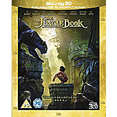 The Jungle Book 2016 Blu-ray 3D