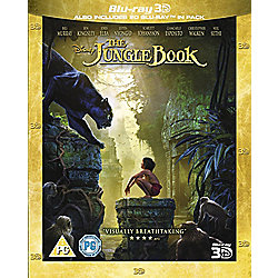 The Jungle Book Blu-ray 3D