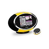 Pure Sensia Digital Audio System with Wi-Fi and Colour Touchscreen - Yellow