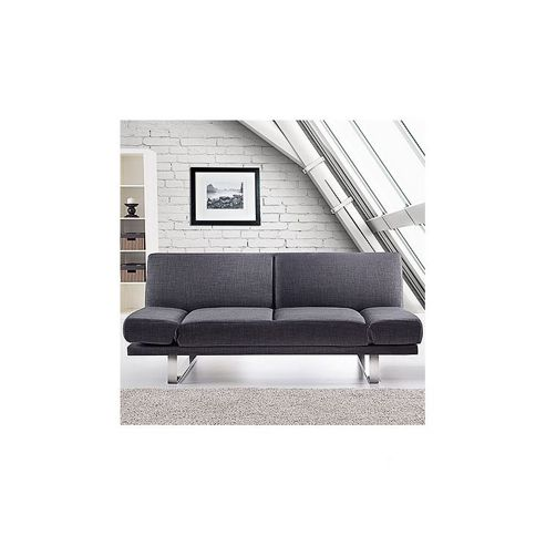 Home Essence York 3 Seater Sofa Bed - Grey