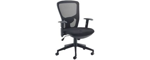 Arista Mesh High Back Task Chair Black KF72236