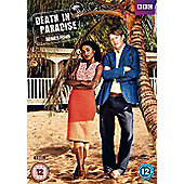 Death In Paradise Series 4 3Disc DVD