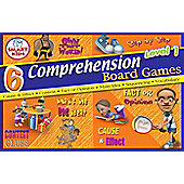Smart Kids 6 Reading Comprehension Board Games Level 1