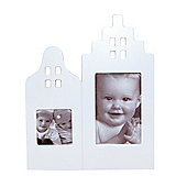 Dutch Houses Picture Frame White
