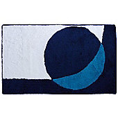 Sanwood Point Turquoise Rug - 90 cm x 60 cm (2 ft 9 in x 1 ft 9 in)