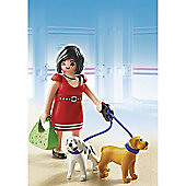 Playmobil - Woman with Puppies 5490