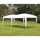 Palm Springs 10' X 20' Ez Pop Up Gazebo Party Tent White