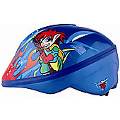 KIDZAMO BOYS BIKE HELMET JNR COBY 46/52 BLUE