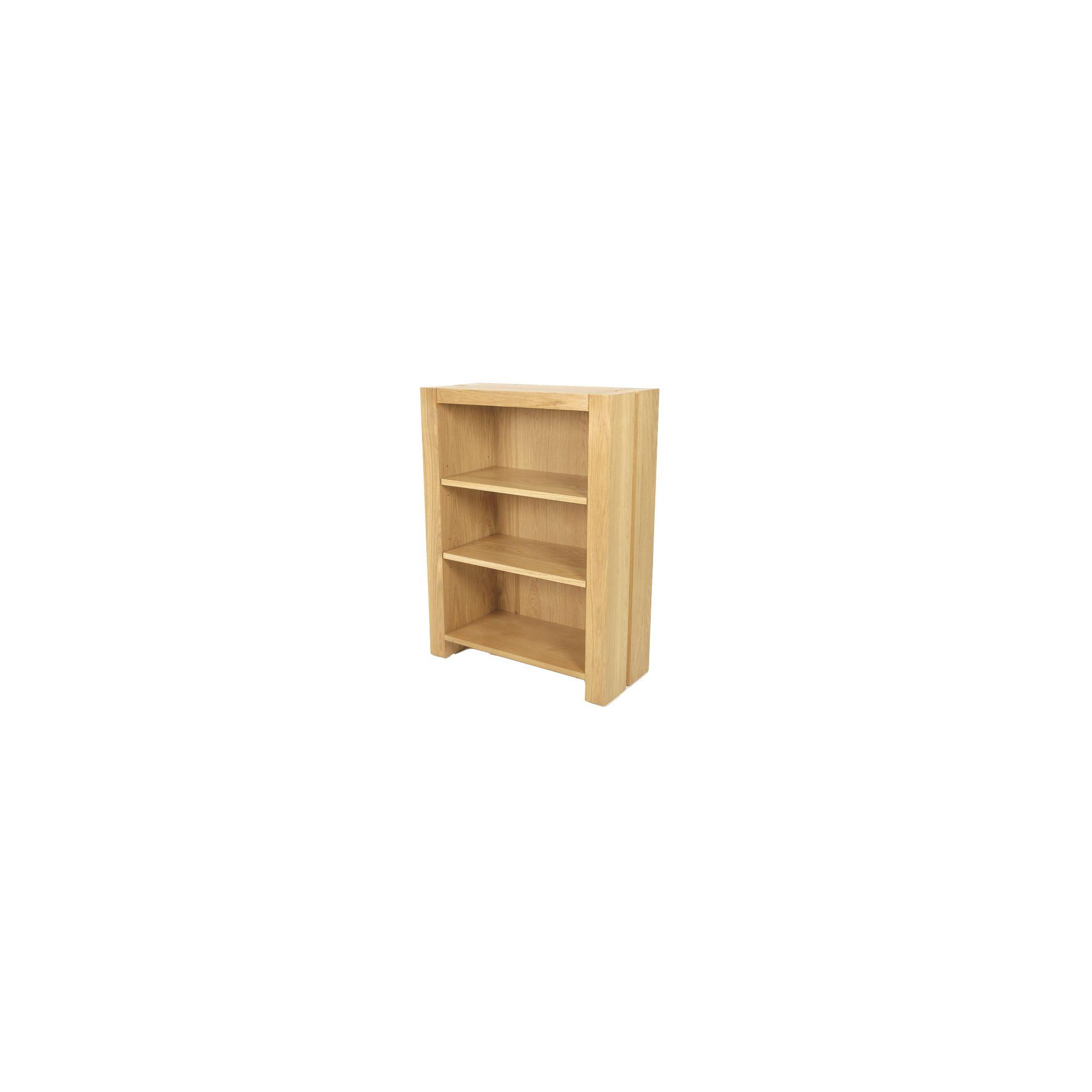 Elements Eton Oak Low Bookcase at Tesco Direct