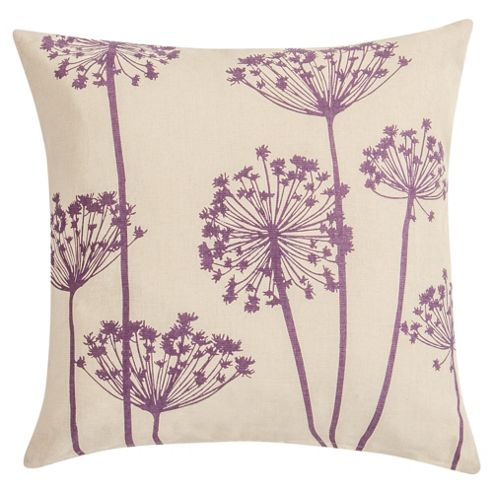 F&F Home Printed Cow Parsley Cushion