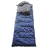 Tesco Festival Sleeping Bag, Polka Dot