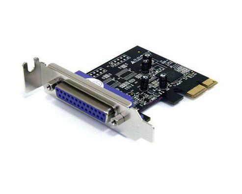 StarTech.com 1 Port PCI Express LP Parallel Adapter Card - SPP/EPP/ECP