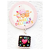 Children's Chocolate Smartie Tart Clip on Charm