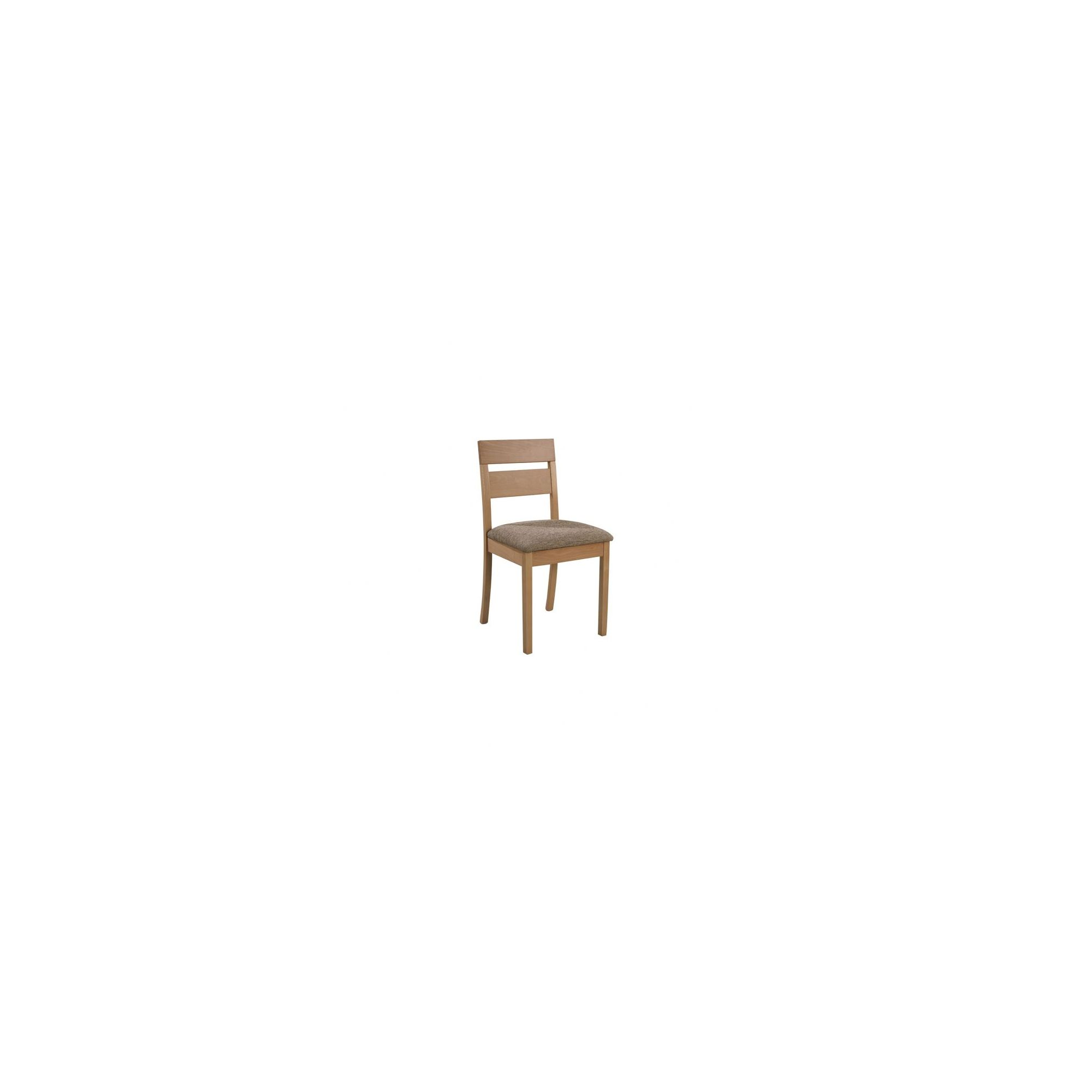 Sutcliffe Furniture Casual Dining Leighton Ladder Back Dining Chair (Set of 2) - Beige - English Oak