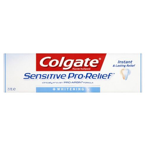 Colgate Sensitive Pro Relief + Whitening Toothpaste 75Ml