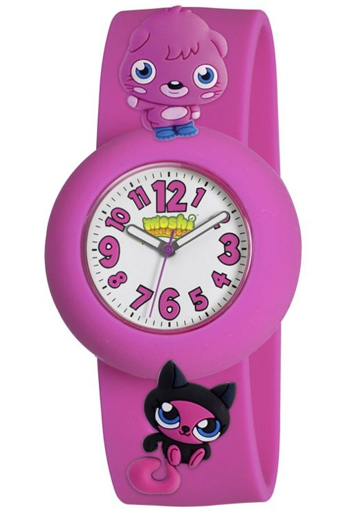 Pink Poppet Moshi Monsters Watch With Charms