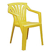 Nardi Ariel Kiddy Chair in Yellow (Set of 2)