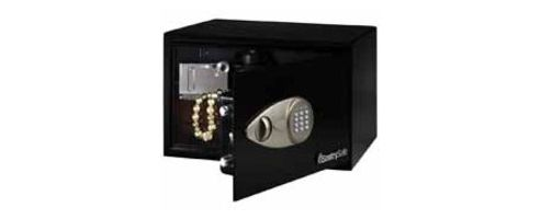 Sentry Entry Level Medium Electronic Lock Safe Black X055
