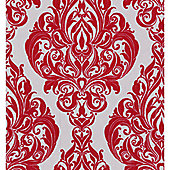 Graham & Brown LLB Kinky Vintage Wallpaper - Red