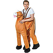 Step-In Horse - Adult Costume Size: 38-44