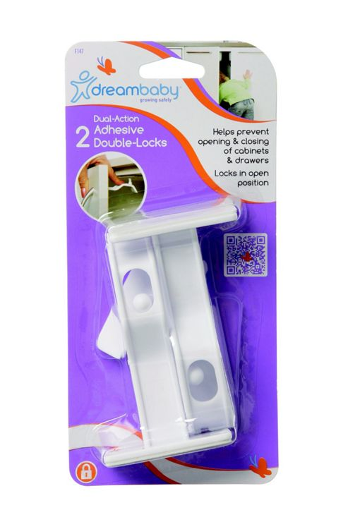 Adhesive Double-Lock 2PC - F147 - Dreambaby