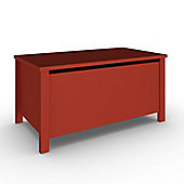 Sugar & Spice Wooden Toy Box - Red