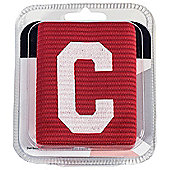Precision Training Big C Captains Arm Band Junior - Red