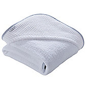 Clair de Lune Luxury Hooded Towel (Waffle White)